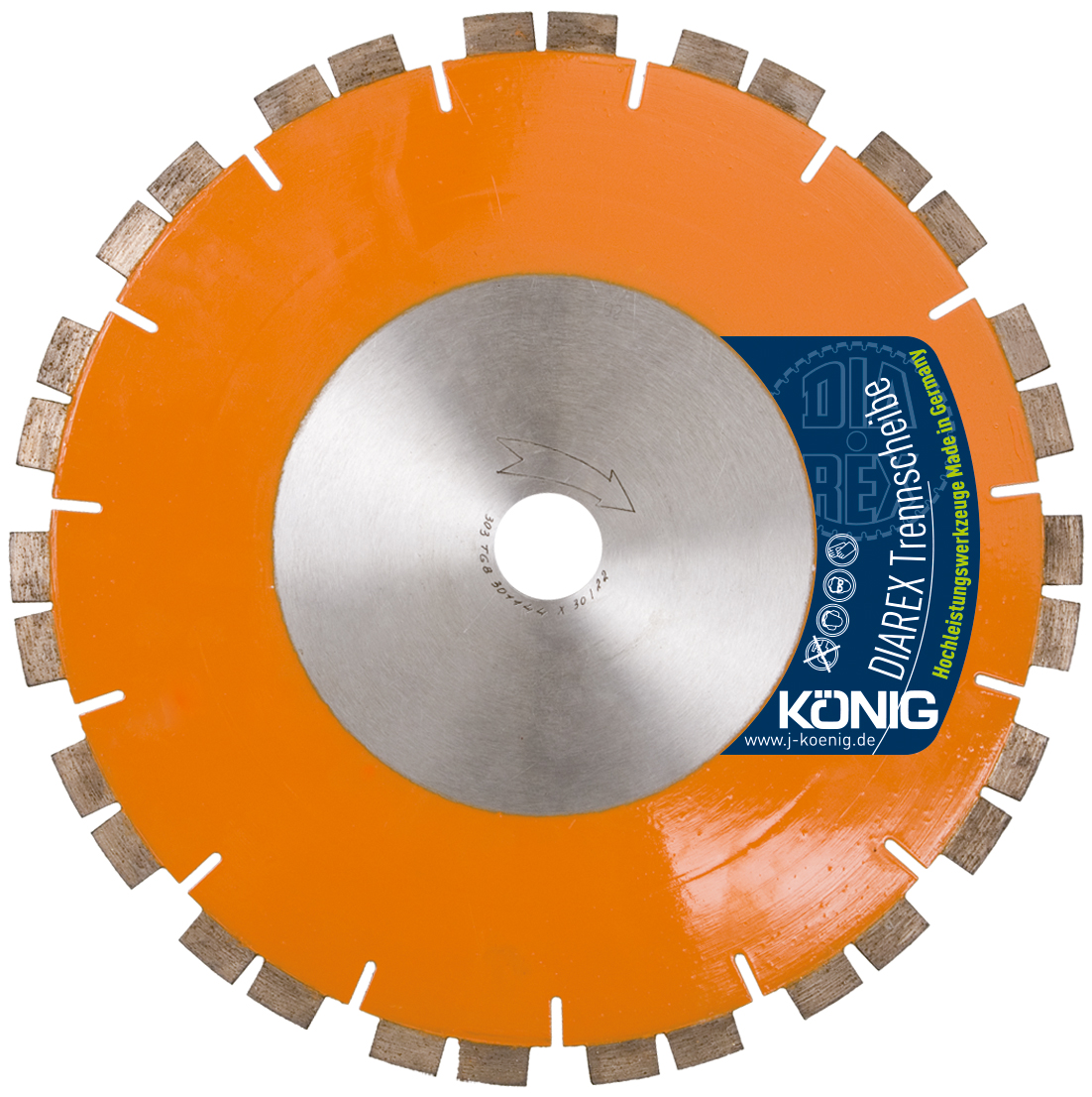 DIAREX Trennscheibe TGB ø 250 mm | Bohrung 30 mm