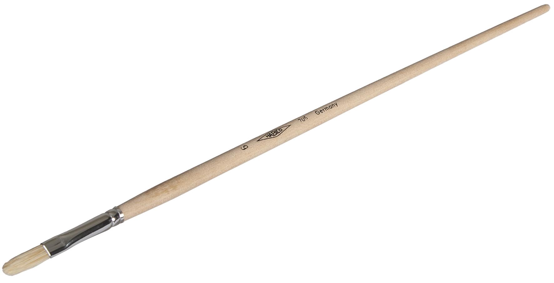 Anlegepinsel flach | Gr. 6