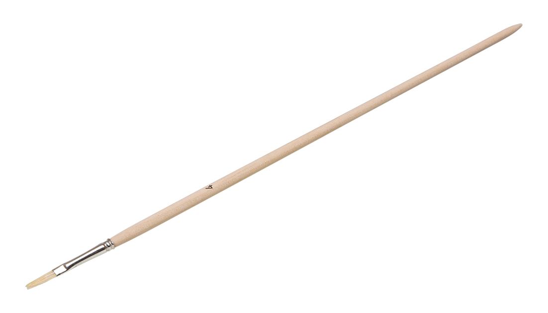 Anlegepinsel flach | Gr. 10