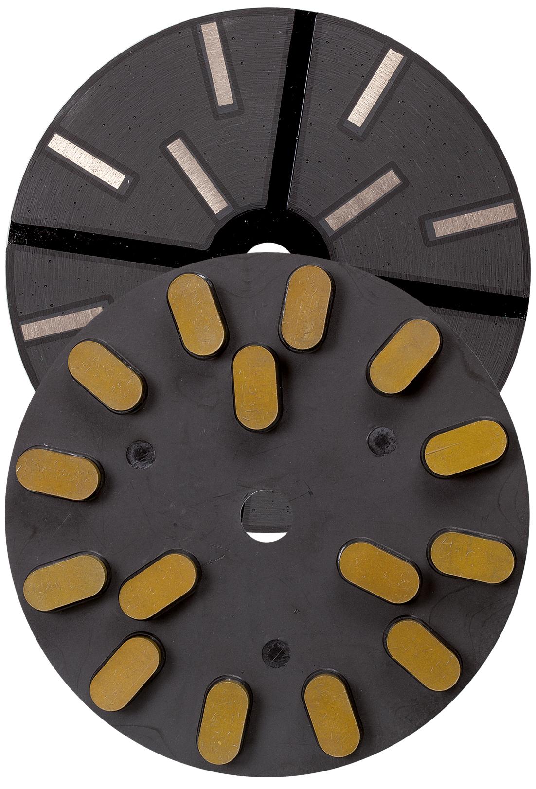 Diamantschleifteller ø 250 mm | Klett | Korn 100