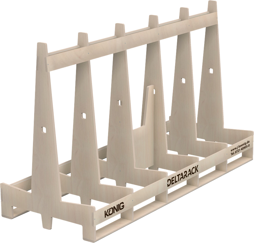 Deltarack Transportgestell Holz B4L 1988 x 770 x 1203 mm | 1000kg