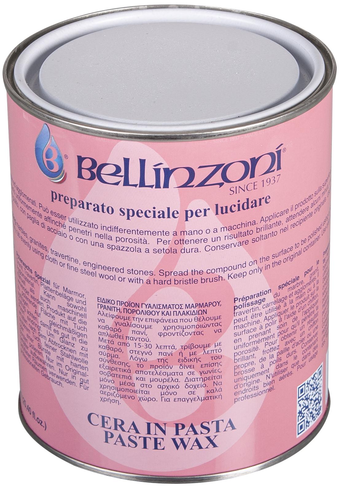 Bellinzoni Polierwachs transparent 1,05 kg