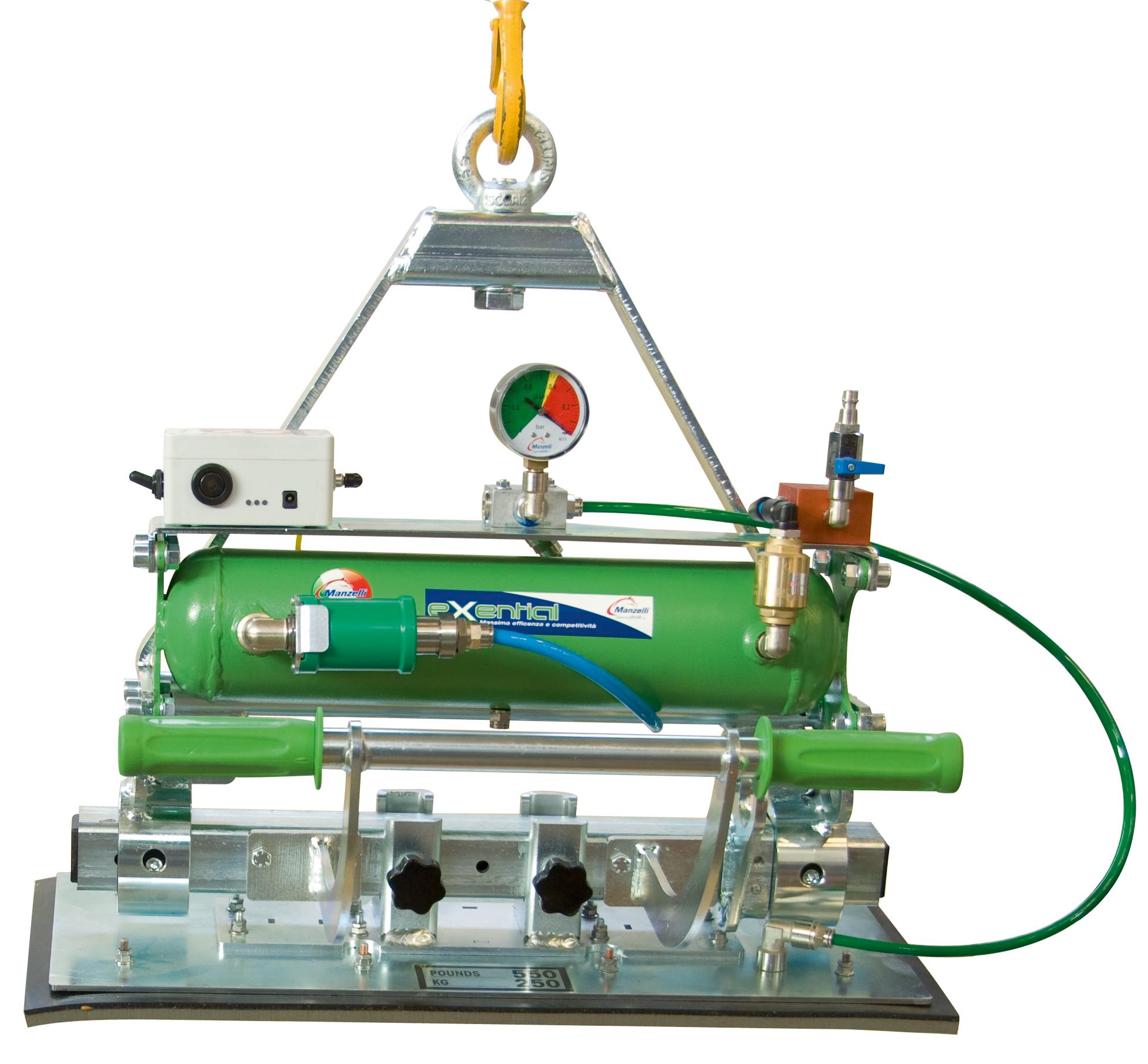 Manzelli Vakuumheber Exential EXE 1/500 IS | wechselbare Saugplatte