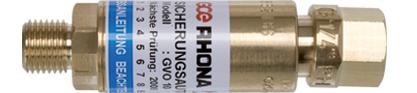 Flammstrahl EXPL.Sicherung SA G 1/4 Sauerstoff